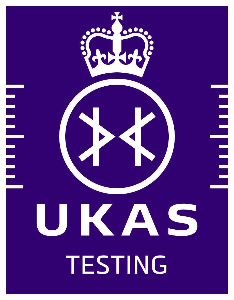 UKAS testing logo