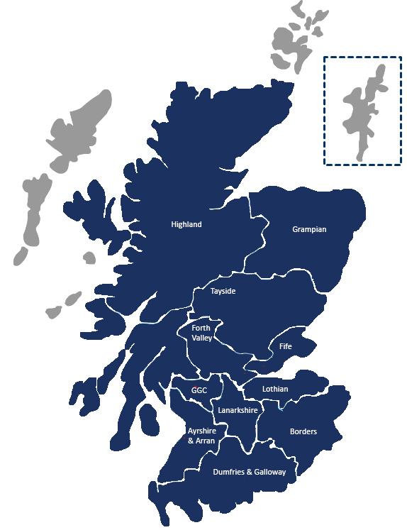 Scotland health boards